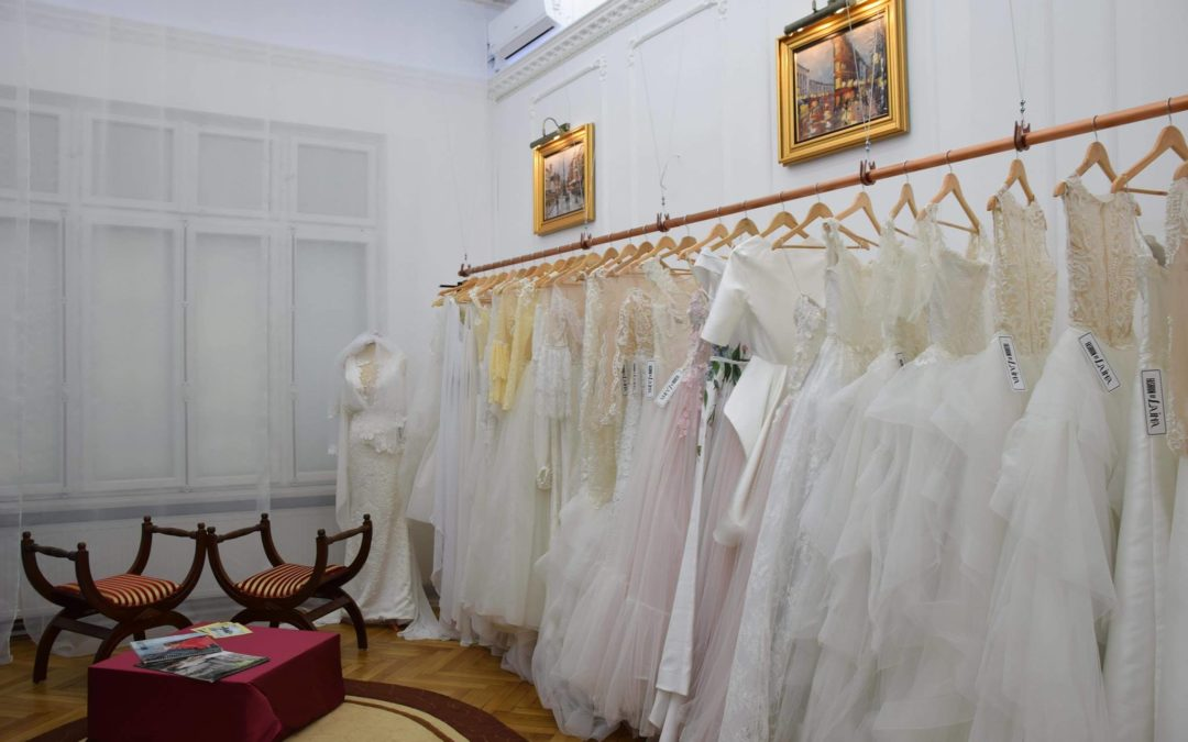Come Find Your Dream Dress in our New Designer Showroom in Bucharest