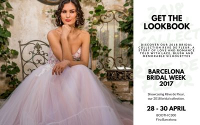 Our 2018 Bridal Collection Launches at Barcelona Bridal Week, this April